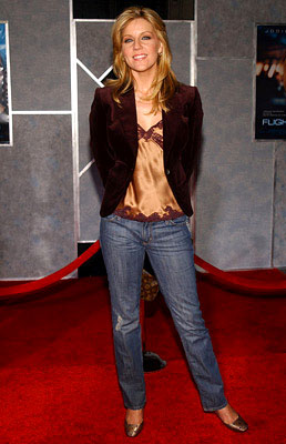 Premiere: Andrea Parker at the LA premiere of Touchstone's Flightplan - 9/19/2005