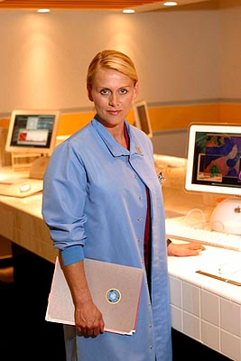 Andrea Thompson as Dr. Nicole Duncan Fox's 24