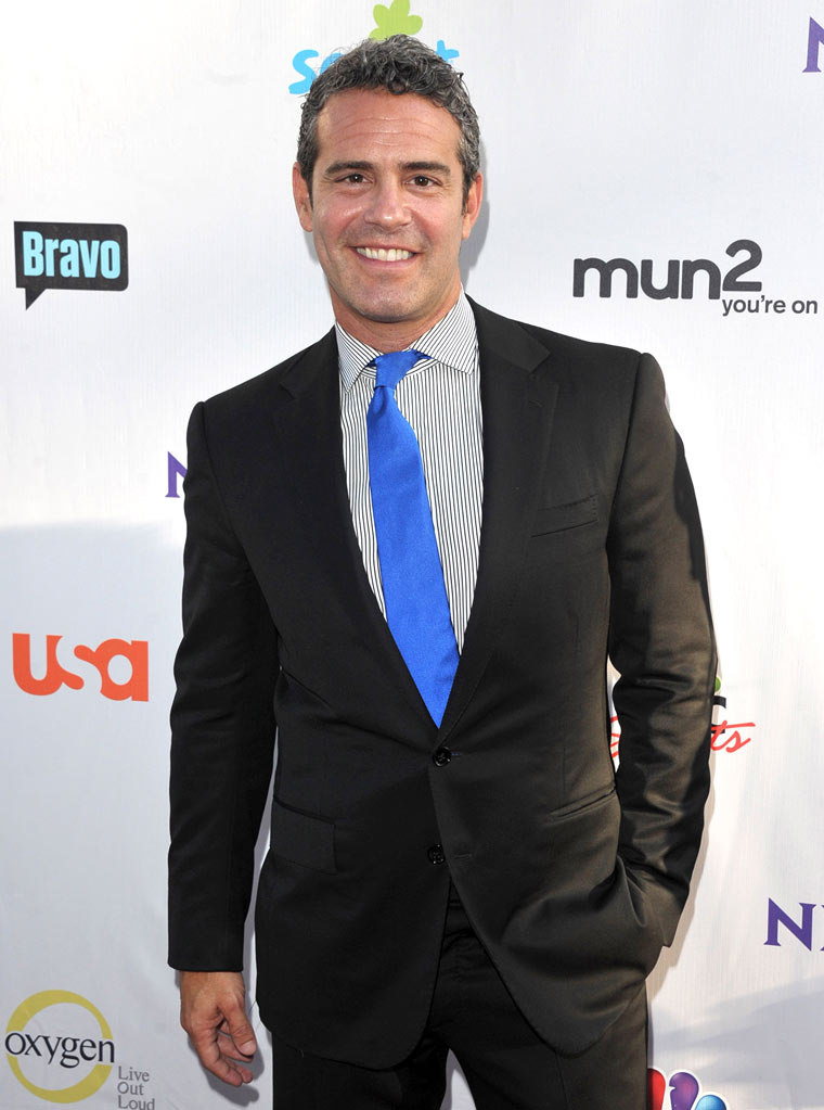 "Andy Cohen of ""Watch What Happens Live"" attends the NBC Universal Summer TCA 2011 All-Star Party at the SLS Hotel on August 1, 2011 in Los Angeles, California."