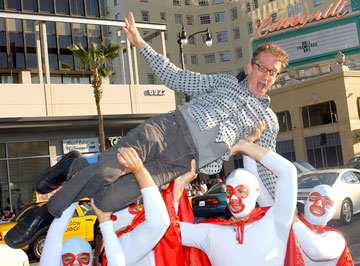 Premiere: Andy Dick and the Nachos at the Hollywood premiere of Paramount Pictures' Nacho Libre - 6/12/2006