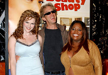 Premiere: Sara Rue, Andy Dick and Sherri Shepherd at the LA premiere of MGM's Beauty Shop - 3/24/2005
