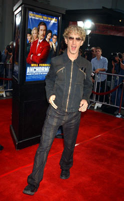 Premiere: Andy Dick at the Hollywood premiere of Dreamworks' Anchorman - 6/28/2004
