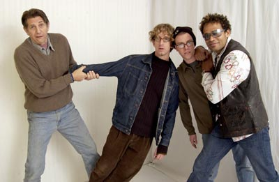 Peter Coyote, Andy Dick, Sean Whalen and Mario Van Peebles The Hebrew Hammer Yahoo! Movies Portrait Studio Sundance Film Festival 1/23/2003
