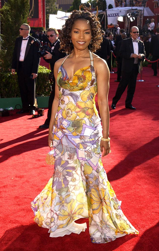 Angela Bassett at The 54th Annual Primetime Emmy Awards.