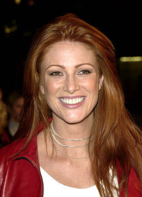 Premiere: Angie Everhart at the Hollywood premiere of Warner Brothers' Valentine - 2/1/2001