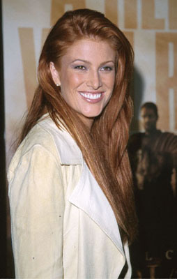 Premiere: Angie Everhart at the Beverly Hills Academy Theater premiere for Dreamworks' Gladiator - 5/1/2000