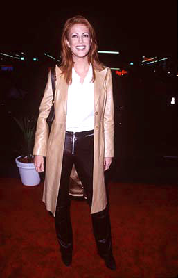 Premiere: Angie Everhart at the premiere of Paramount's Titanic - 12/14/1997