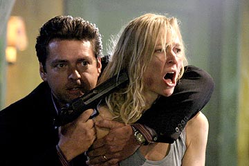"Angus MacFadyen as Roy Bremmer and Kari Matchett as Claudia Sci-Fi Network's ""Five Days to Midnight"""