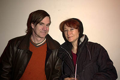 Gus Van Sant and Ann Magnuson Sundance Film Festival Day 4 Hugo Boss Party Park City, Utah 1/21/2001