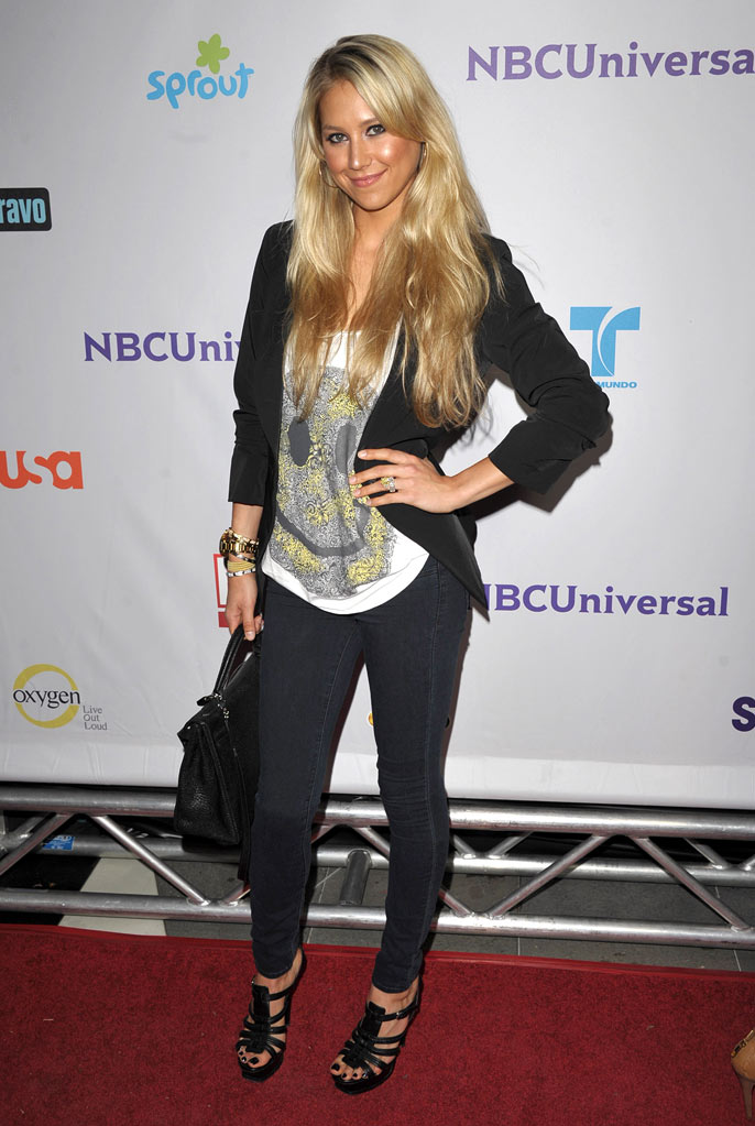 "Anna Kournikova of ""The Biggest Loser"" attends the NBC Universal Summer TCA 2011 All-Star Party at the SLS Hotel on August 1, 2011 in Los Angeles, California."