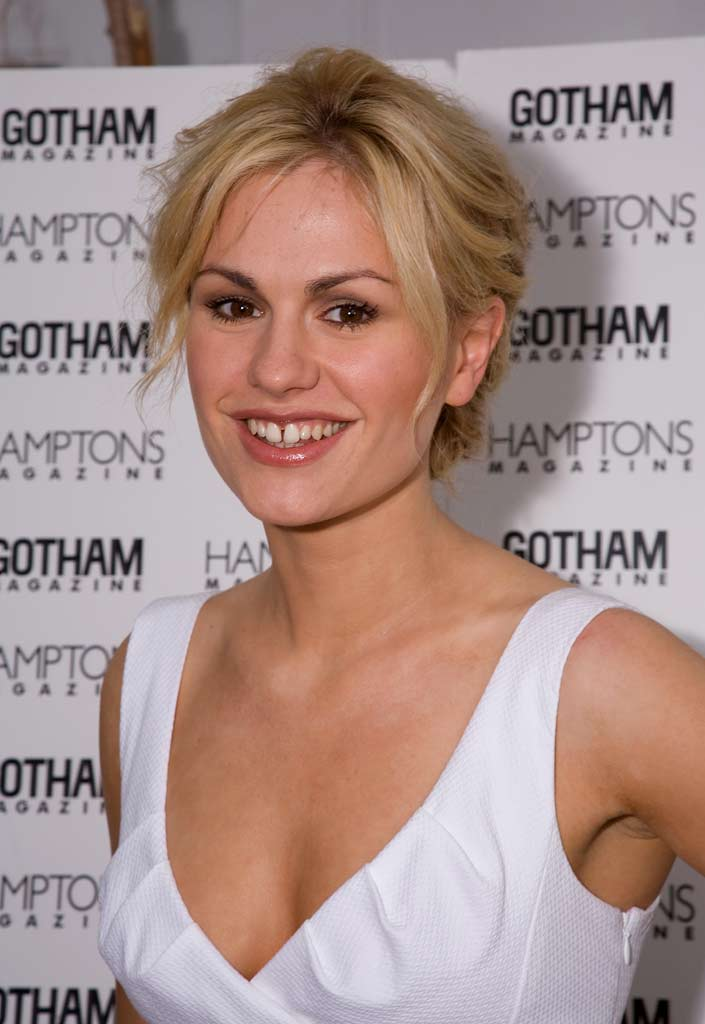 Anna Paquin attends the Memorial Day celebration hosted by Hamptons magazine at Pink Elephant on May 24, 2009 in Southampton, New York.