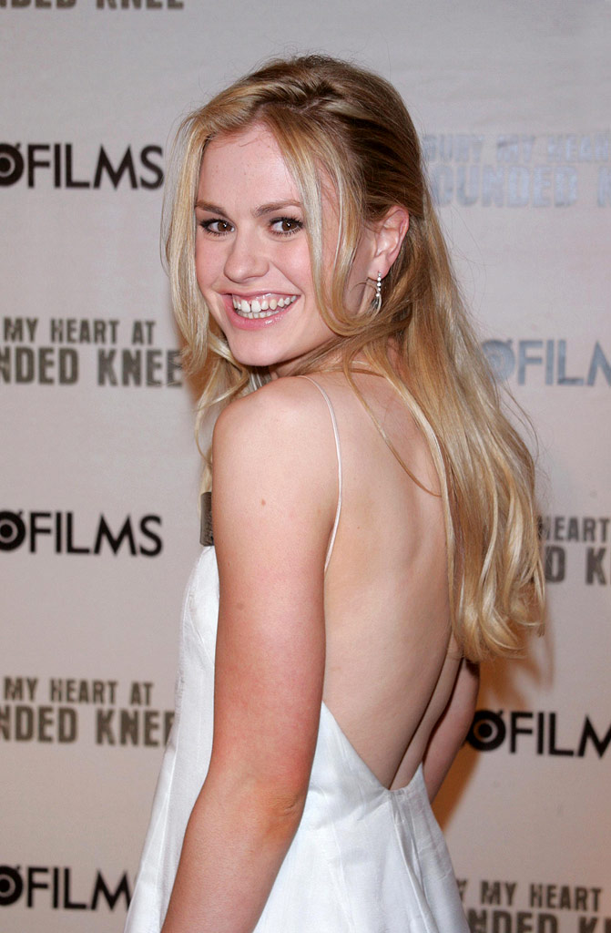 "Anna Paquin at HBO Films' ""Bury My Heart at Wounded Knee"" at the American Museum of Natural History in New York City, New York on May 23, 2007."
