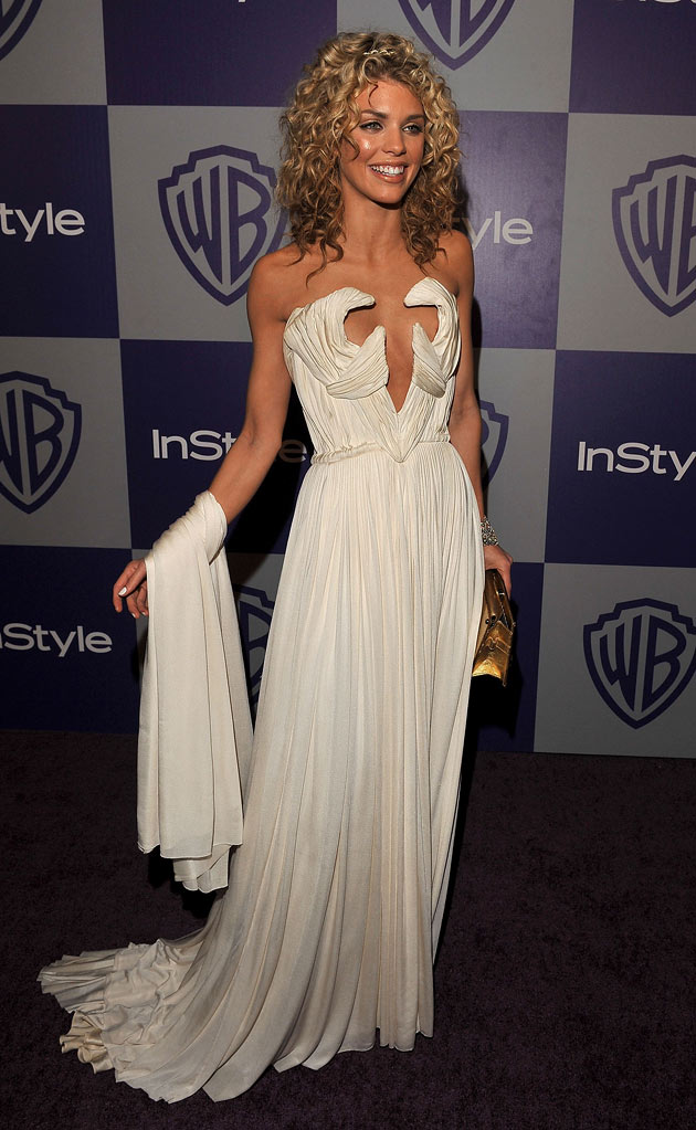 AnnaLynne McCord attends the InStyle and Warner Bros. 67th Annual Golden Globes post party held at the Oasis Courtyard at The Beverly Hilton Hotel on January 17, 2010 in Beverly Hills, California.