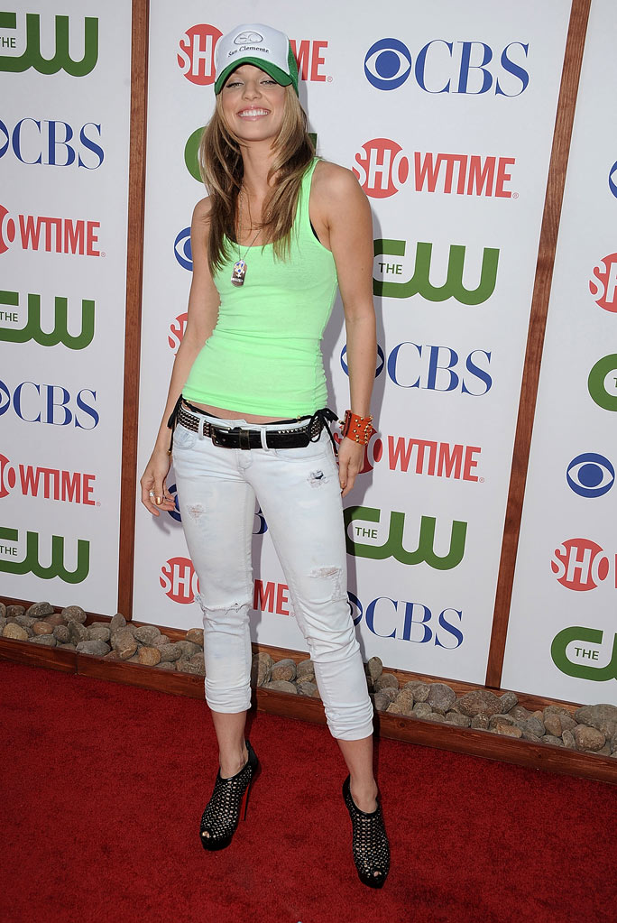 "AnnaLynne McCord of ""90210"" attends the CBS, The CW, and Showtime 2011 Summer TCA Party at The Pagoda on August 3, 2011 in Beverly Hills, California."