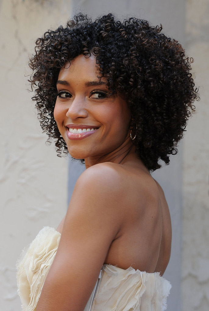 "Annie Ilonzeh arrives at Spike TV's 5th annual 2011 ""Guys Choice"" Awards at Sony Pictures Studios on June 4, 2011 in Culver City, California."