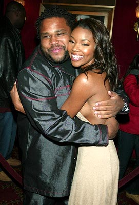 Premiere: Anthony Anderson and Gabrielle Union at the New York premiere of Warner Brothers' Cradle 2 The Grave - 2/24/2003