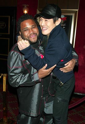 Premiere: Anthony Anderson and Jet Li at the New York premiere of Warner Brothers' Cradle 2 The Grave - 2/24/2003