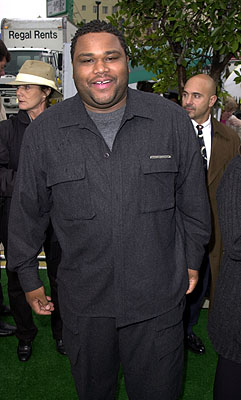 Premiere: Anthony Anderson at the Mann Chinese Theater premiere of Warner Brothers' See Spot Run - 2/25/2001