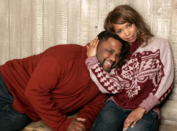 Anthony Anderson and Elise Neal Hustle & Flow Portraits - 1/22/2005 Sundance Film Festival