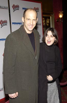 Premiere: Anthony Edwards and gal at the New York premiere of Miramax's Gangs of New York - 12/9/2002