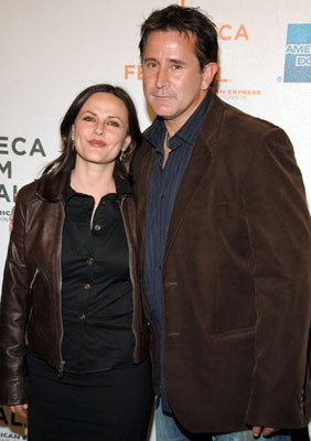 Gia Carides and Anthony LaPaglia 'Tropfest' Tribeca Film Festival - 4/27/2006