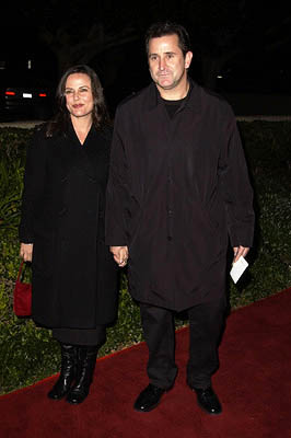 Premiere: Gia Carides and Anthony LaPaglia at the Beverly Hills premiere of Columbia's Black Hawk Down - 12/18/2001