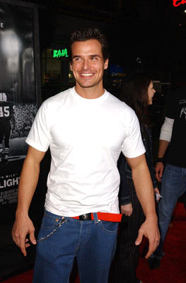 Premiere: Antonio Sabato Jr. at the Hollywood premiere of Universal Pictures' Friday Night Lights - 10/6/2004