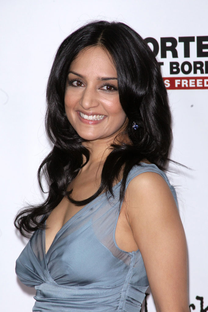 "Archie Panjabi at the New York City premiere of "" A Mighty Heart "" on June 13, 2007"