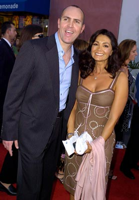 Premiere: Arnold Vosloo and wife Sylvia Ahi at the L.A. premiere of Universal Pictures' Van Helsing - 5/3/2004