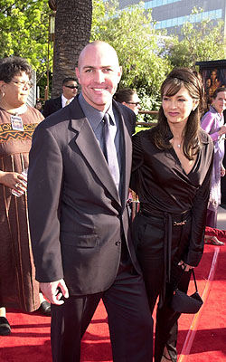 Premiere: Arnold Vosloo and wife at the Universal city premiere of Universal's The Mummy Returns - 4/29/2001