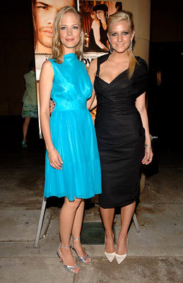 Premiere: Pell James and Ashlee Simpson at the Hollywood premiere of Lions Gate Films' Undiscovered - 8/23/2005