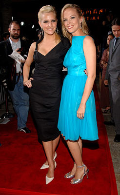Premiere: Ashlee Simpson and Pell James at the Hollywood premiere of Lions Gate Films' Undiscovered - 8/23/2005
