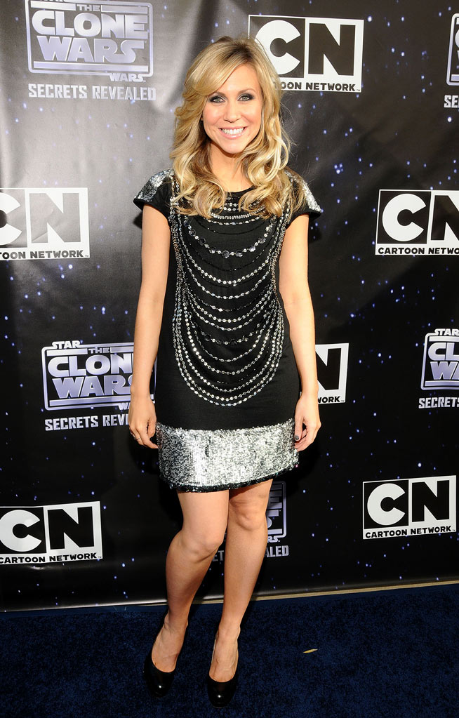 "Ashley Eckstein attends the ""Star Wars: The Clone Wars"" Season 3 premiere party on September 10, 2010, in San Francisco."