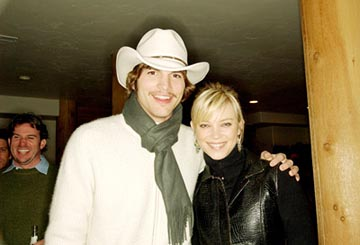 "Ashton Kutcher and Amy Smart ""The Butterfly Effect"" - 1/17/2004 Sundance Film Festival"