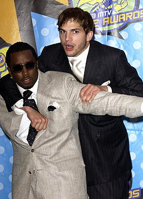 P. Diddy, Ashton Kutcher MTV Movie Awards - 5/31/2003
