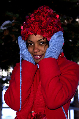 Aunjanue Ellis of The Caveman's Valentine Sundance Film Festival Day 3 Park City, Utah 1/20/2001