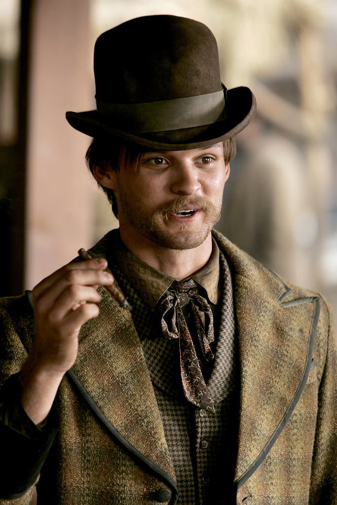 Austin Nichols stars in Deadwood on HBO.