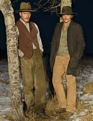 Balthazar Getty and Skeet Ulrich TNT's Into the West