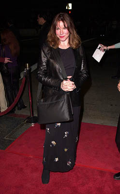 Premiere: Barbara Hershey at the Hollywood premiere of MGM's Heartbreakers - 3/19/2001