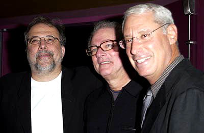 Premiere: Tom Fontana, Barry Levinson and Henry S. Schleiff at a New York screening of MGM's Bandits - 9/25/2001