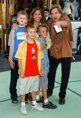 Premiere: Beau Bridges and family at the LA premiere of Universal's The Hulk - 6/17/2003