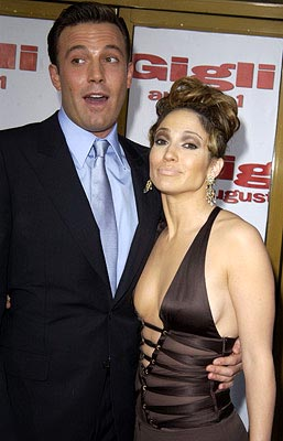 Premiere: Ben Affleck and Jennifer Lopez at the LA premiere of Gigli - 7/27/2003