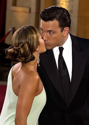 Jennifer Lopez and Ben Affleck 75th Academy Awards - 3/23/2003