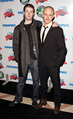 Premiere: Jon Foster and Ben Foster at the New York premiere of Miramax Films' Hostage - 3/8/2005