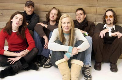 Michelle Hicks, Jon Gries, Ben Foster, Daryl Hannah, Mark Polish and Michael Polish Northfork Sundance Film Festival 1/21/2003