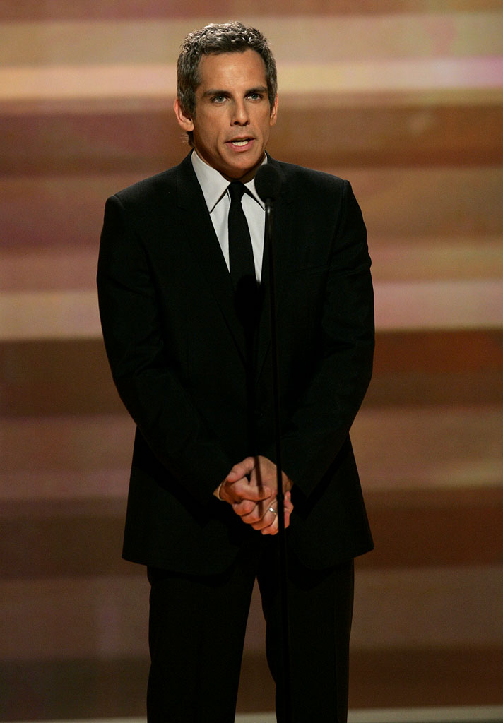 Ben Stiller at the 64th annual Golden Globe Awards.
