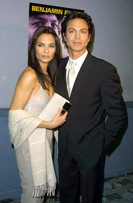 Premiere: Talisa Soto and Benjamin Bratt at the New York premiere of Miramax's Pinero - 12/10/2001