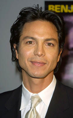 Premiere: Benjamin Bratt at the New York premiere of Miramax's Pinero - 12/10/2001