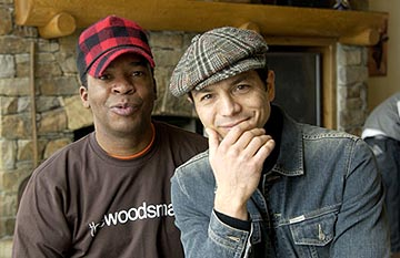 "David Alan Grier and Benjamin Bratt ""The Woodsman"" - 1/19/2004 Sundance Film Festival"