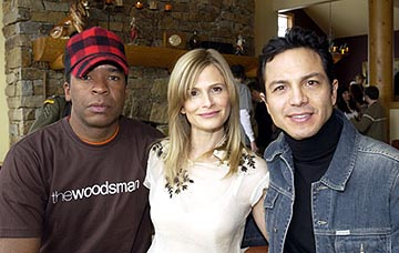 "David Alan Grier, Kyra Sedgwick and Benjamin Bratt ""The Woodsman"" - 1/19/2004 Sundance Film Festival"